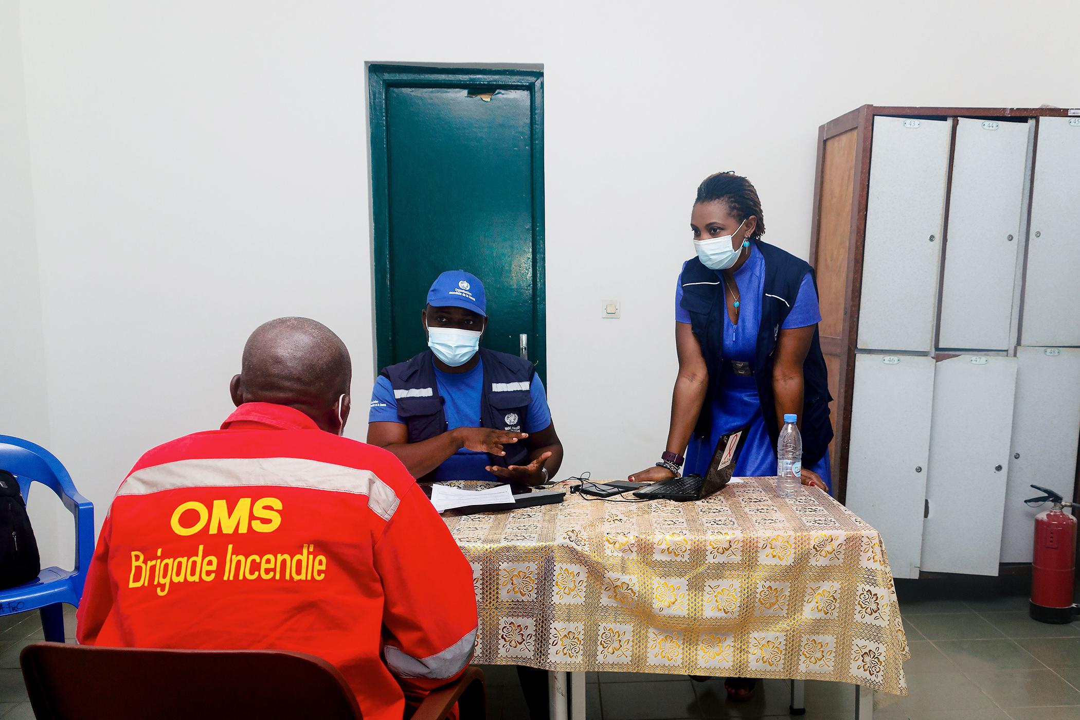 COVID-19 Vaccinations in Brazzaville