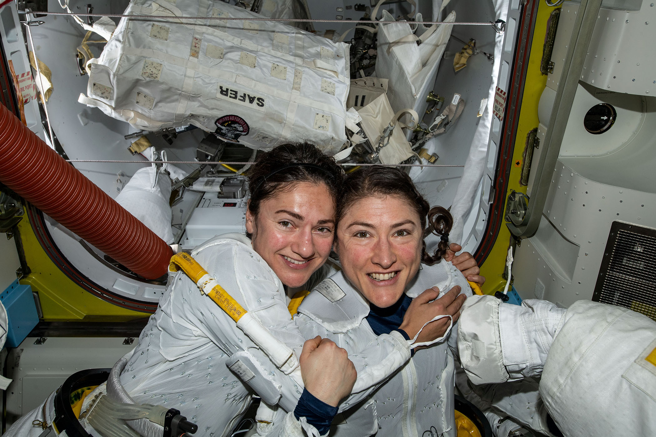 NASA's first all-female spacewalk.
