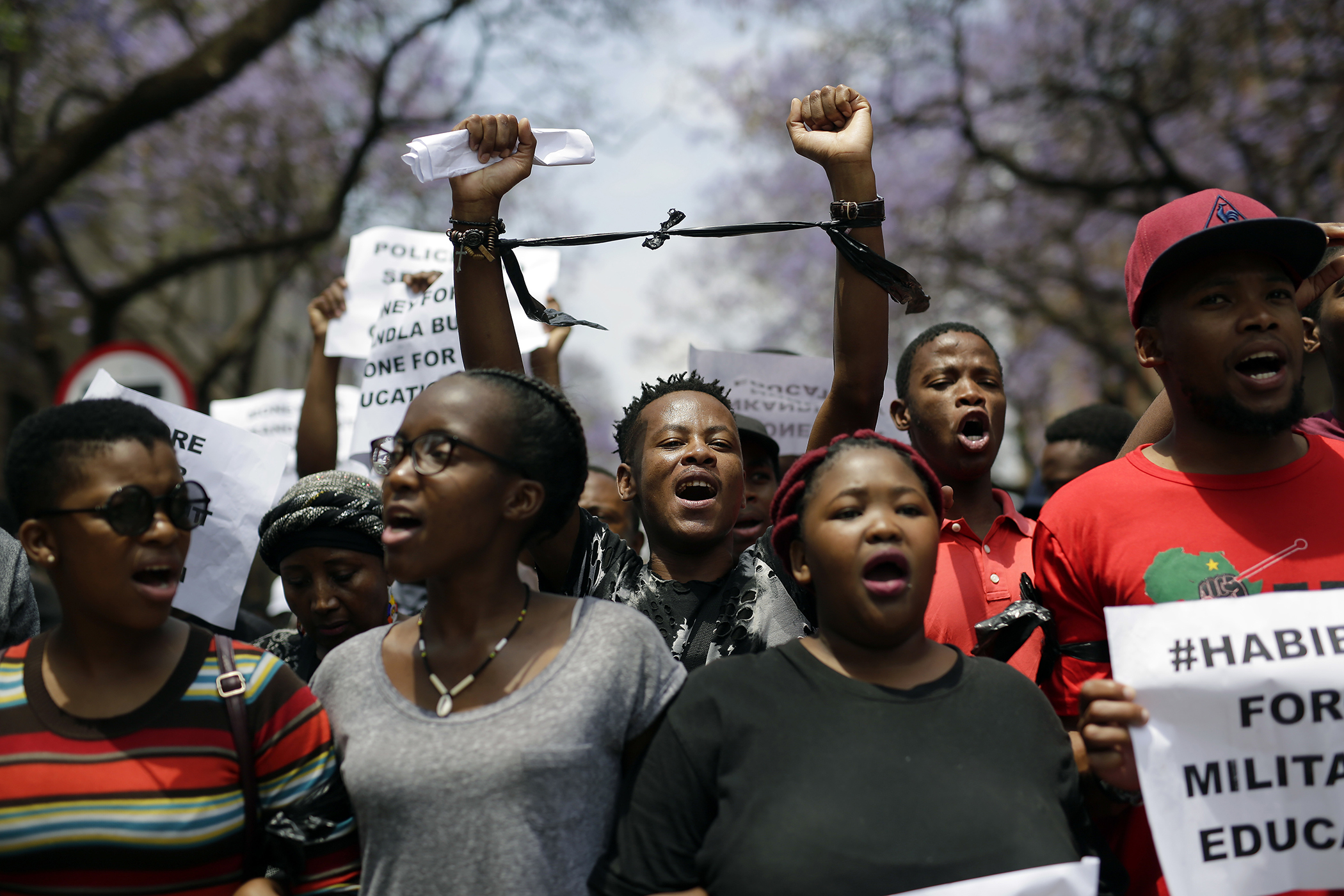 South Africa Student Protests Timeline