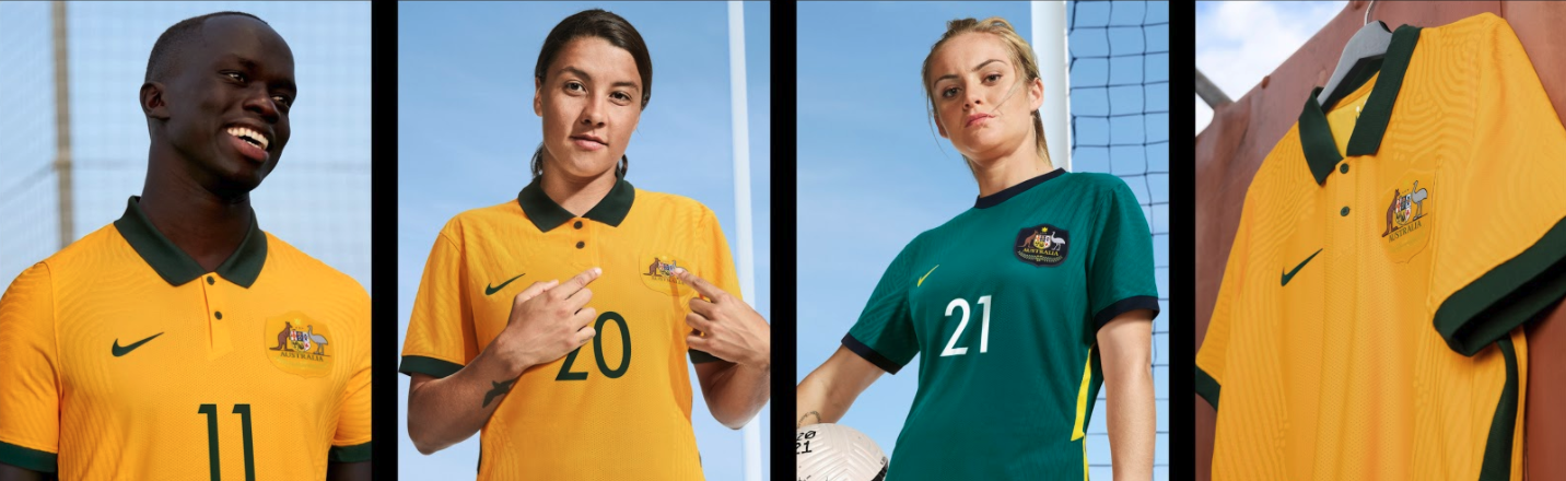 Australia's Soccer Teams' New Nike Uniforms Are Made Entirely From Recycled Bottles