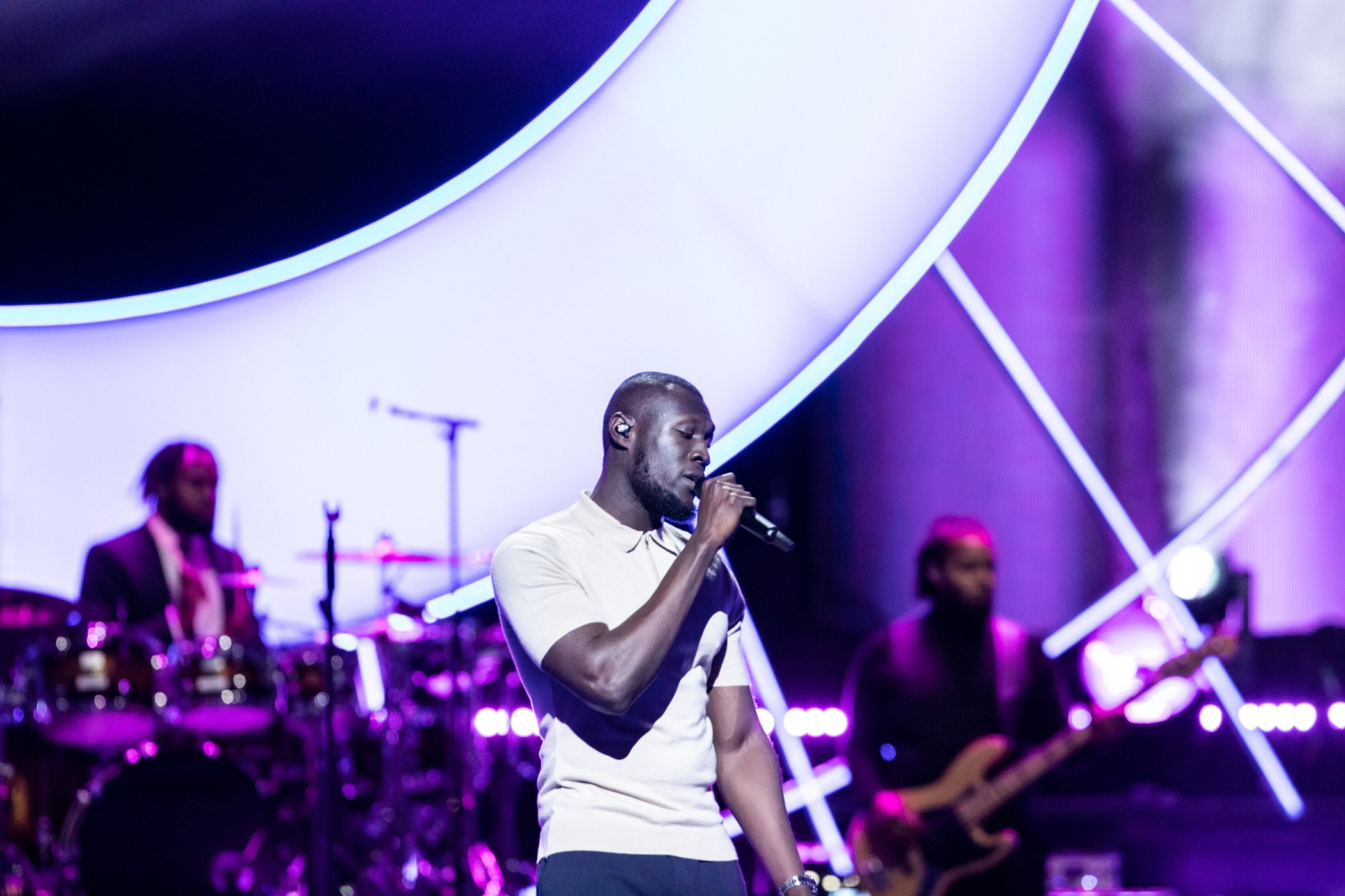 Stormzy beim Global Citizen Prize am 13. Dezember 2019. Bild: Grey Hutton für Global Citizen