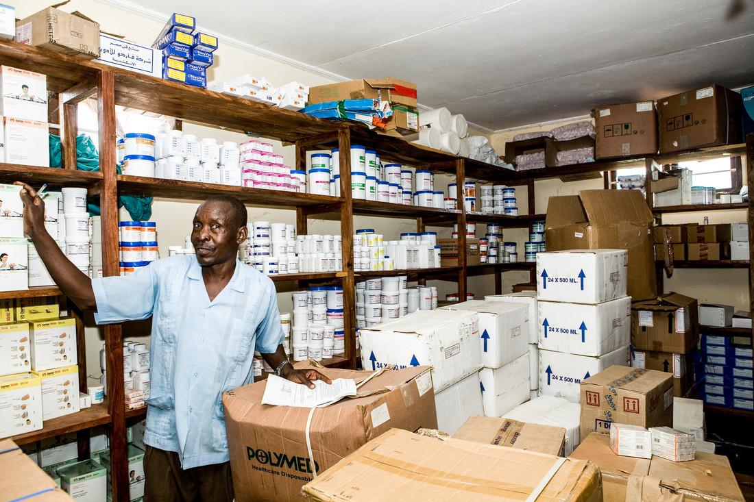 Einblicke in die Arbeit der Impfallianz Gavi, hier: Tansania. Bild: GAVI/2008/Sala Lewis