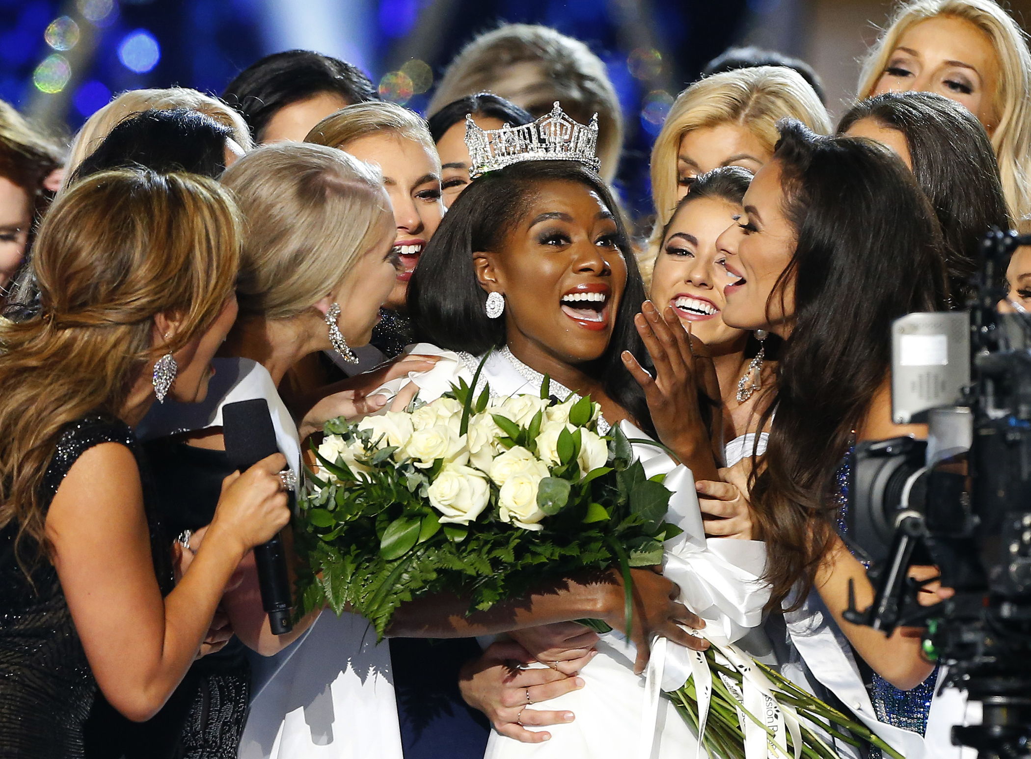 History at  five of the world's biggest beauty pageants.