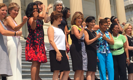 Article: Congresswomen Bare Their Arms on 'Sleeveless Friday' to Fight Patriarchal Dress Codes