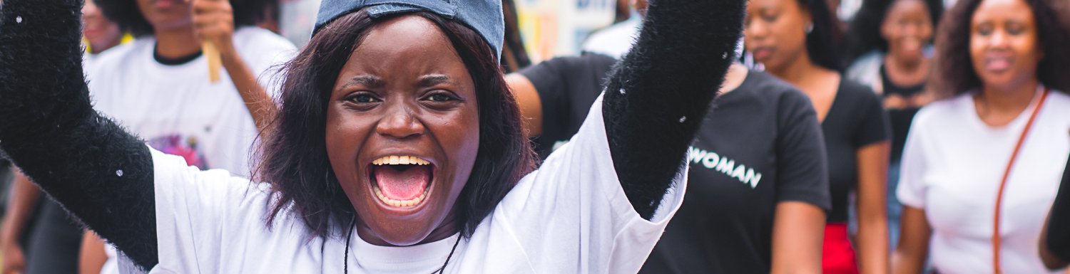 Why Women in Zambia's Capital Joined the Women's March
