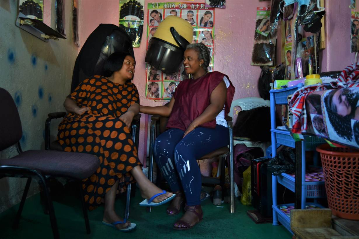 This Ethiopian hairdresser is creating a safe space for sex workers and migrants