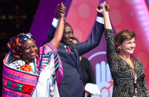 World Leaders Recommit to Transform the World for Girls and Women by 2030 at Nairobi Summit