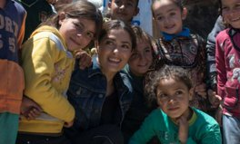 Article: Chime for Change Co-Founder Salma Hayek Pinault Visits Syrian Refugees in Lebanon