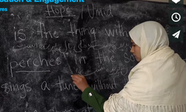 Article: Against All Odds, This Afghan Girl Finishes Her Education Despite Child Marriage