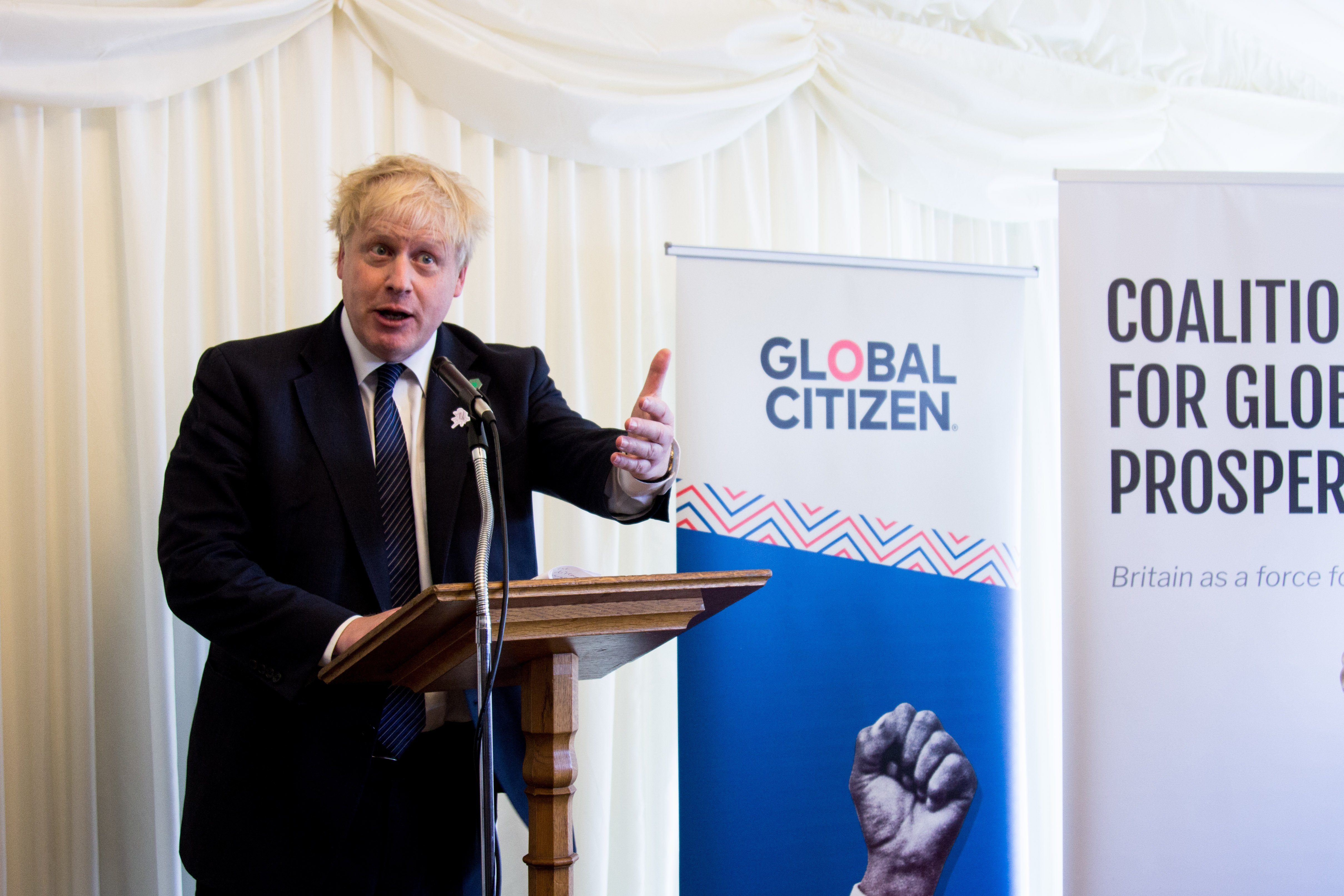 boris-johnson-girls-education-global-citizen-london