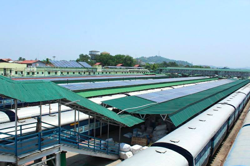 This Train Station in India Is the First to Run Entirely on Solar Energy