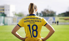 Article: These Swedish Women's Jerseys Featuring Empowering Messages Are Everything