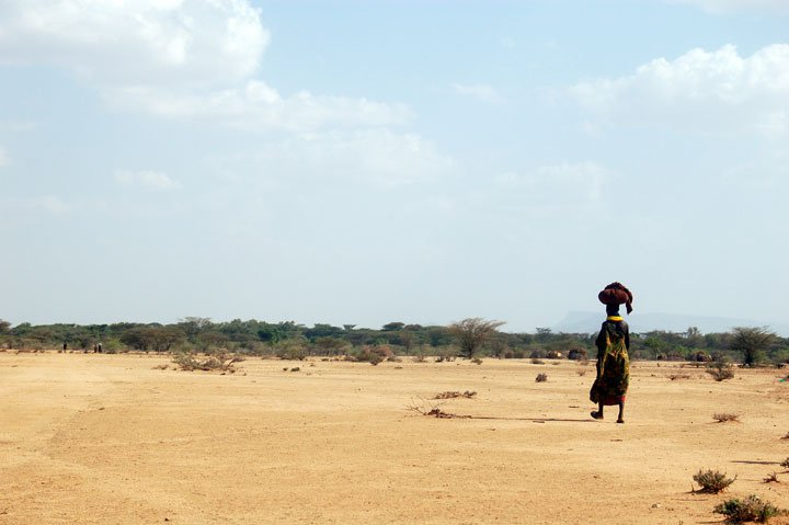 dry land africa