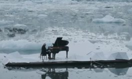 Video: Famous Pianist Plays on 'Melting' Glacier in Stunning Video