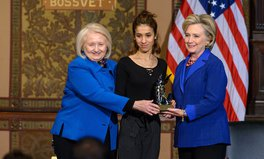 Article: Hillary Clinton Gives Human Rights Award to ISIS Survivor Nadia Murad
