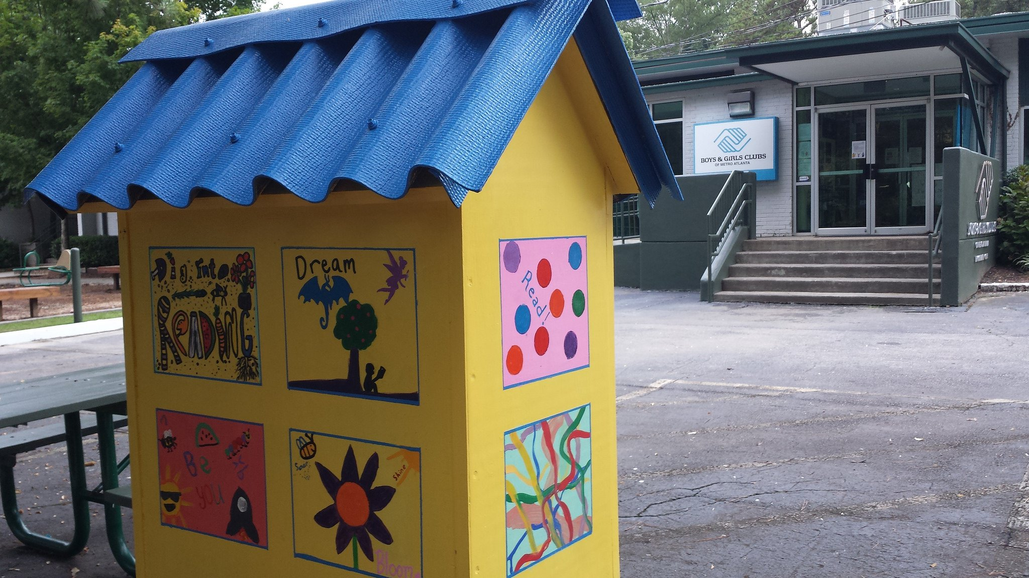 Little Free Library - illustrations