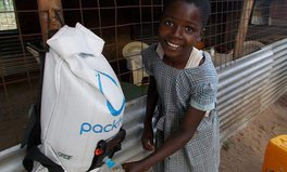 Article: PackH2O Water Backpack is Being Introduced in Schools Across Kenya
