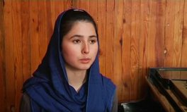 """Article: """"I will never accept defeat"""" - the Afghan girl defying a community that says women cannot play music"""