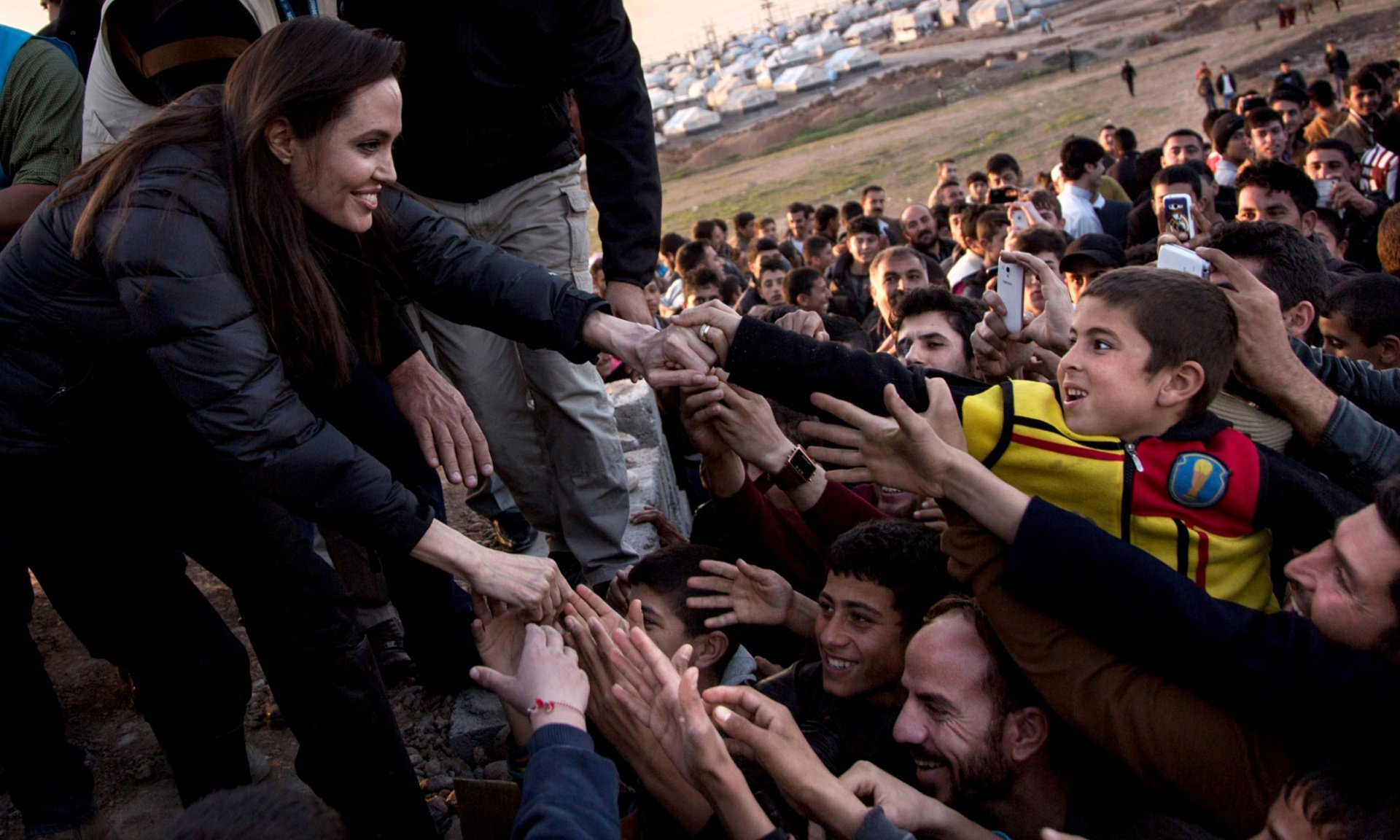 Angelina Jolies visits refugee camp in XXX.jpg