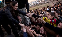 Article: Angelina Jolie Pitt makes an emotional plea for world leaders to find a diplomatic solution to the Syrian crisis