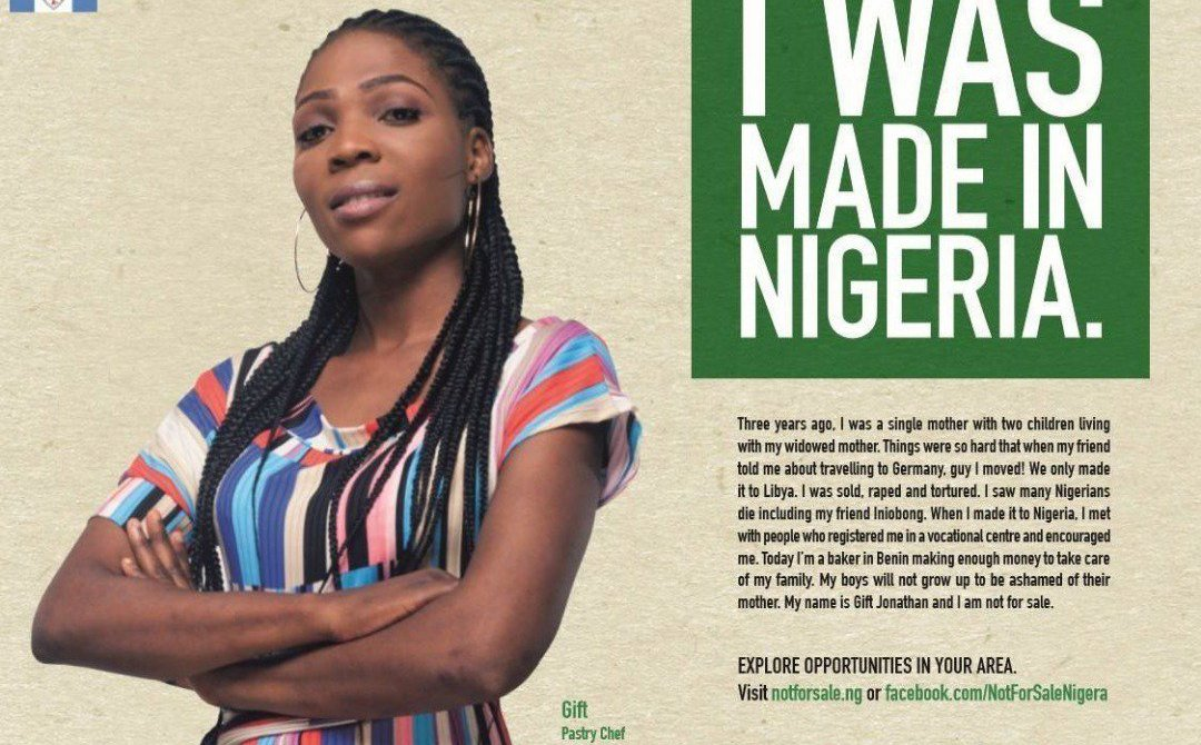 'I Am Not for Sale': New Anti-Slavery Campaign Encourages Women to Build a Life in Nigeria
