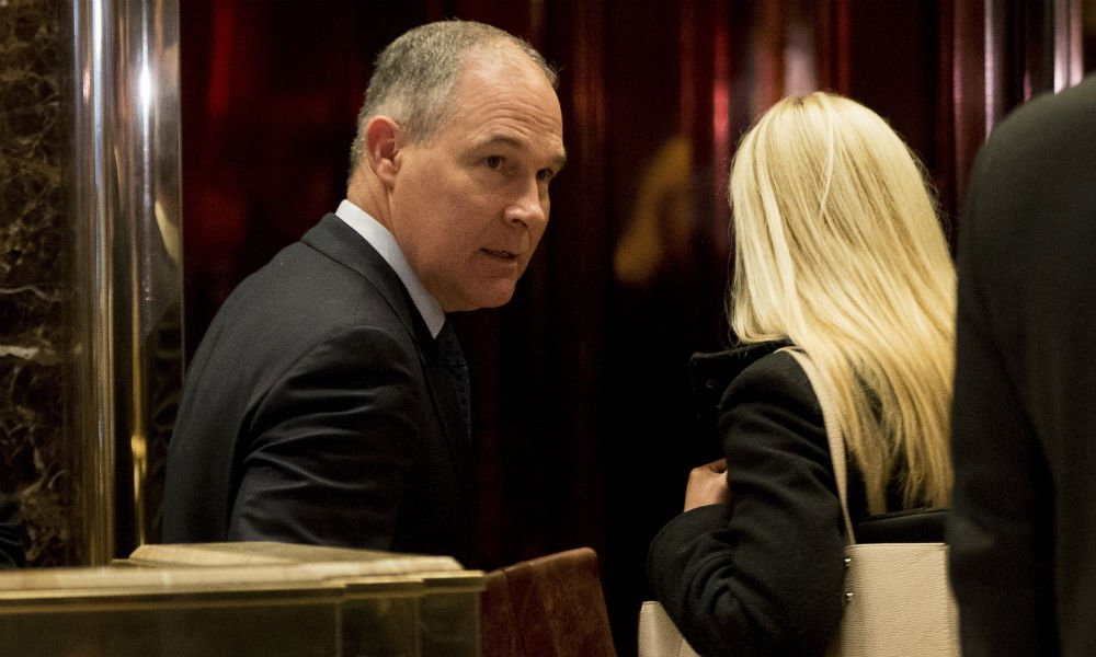 Scott Pruitt, Trump's choice to lead the EPA