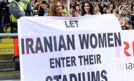 Article: In Iran, Women Were Banned From Attending a Soccer Game Because They're Women