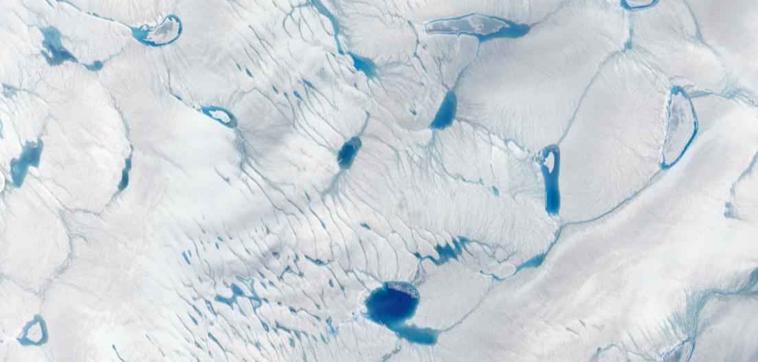 Ice melt in Greenland