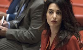 Article: Amal Clooney at Toronto Event: 'The Worst Things Happen in Darkness'