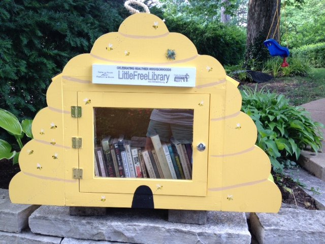 Little Free Library - Beehive