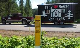 Artikel: These 'Tiny House Warriors' Have Occupied a Canadian Park for a Very Important Reason
