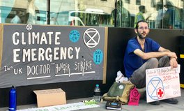 Article: I Sat Outside a UK Government Building on Hunger Strike for 15 Days Demanding Climate Action