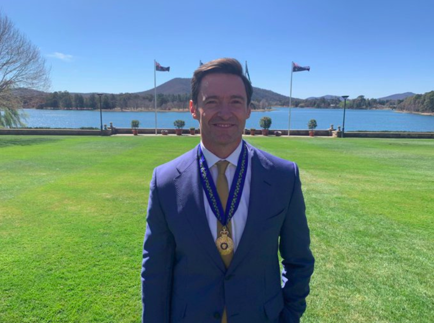 Hugh Jackman Receives Order of Australia Medal for His Poverty Eradication Efforts