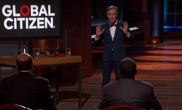 Video: Bill Nye Enters the Shark Tank to Pitch an End to Poverty