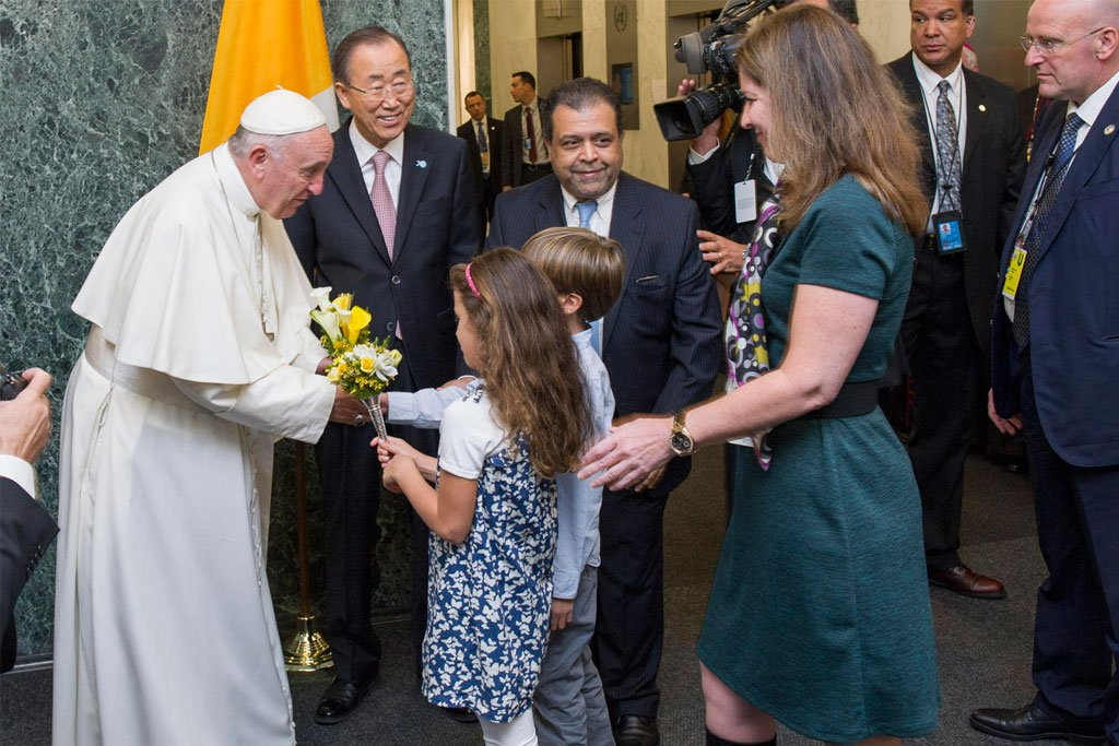 Pope at UN