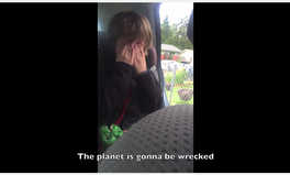 Video: This 6-year-old is literally crying for our planet