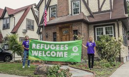 Article: 4 Refugees Found a New Home for the Weekend — In the Same House Donald Trump Once Lived In