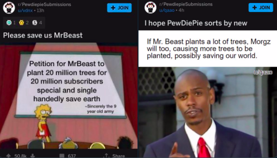 How Memes Spurred YouTubers to Raise $8 Million to Plant Trees Worldwide