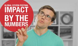 Video: Global Voices: 2015 Global Citizen Festival impact by the numbers