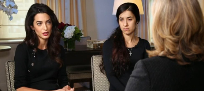 Yazidi People Amal Clooney on Nadia ...