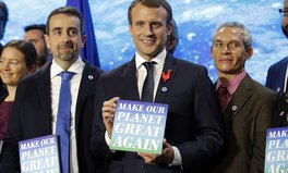Article: President Macron Awarded Scientists With Grants to 'Make Our Planet Great Again'