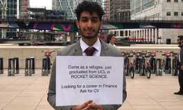 Article: One Tweet Sparks Viral Campaign to Find Job for Refugee Rocket Scientist
