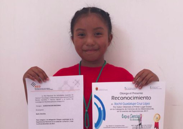 Image result for 8-year-old Mexican Girl Wins Nuclear Sciences Prize For Her Invention