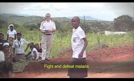 Video: This girl just brought some sass to the fight against malaria