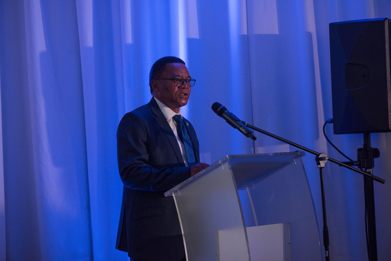 VP Botswana Slumber Tsogwane at SDG High Level Reception.jpg
