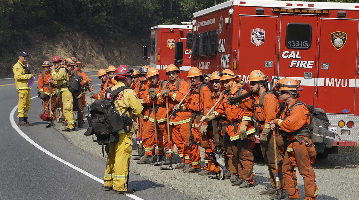 California Is on Fire — These Inmates Are Putting Out Flames