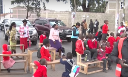 Article: After Their School Was Demolished, These Kids Blocked Streets With Their Desks In Protest