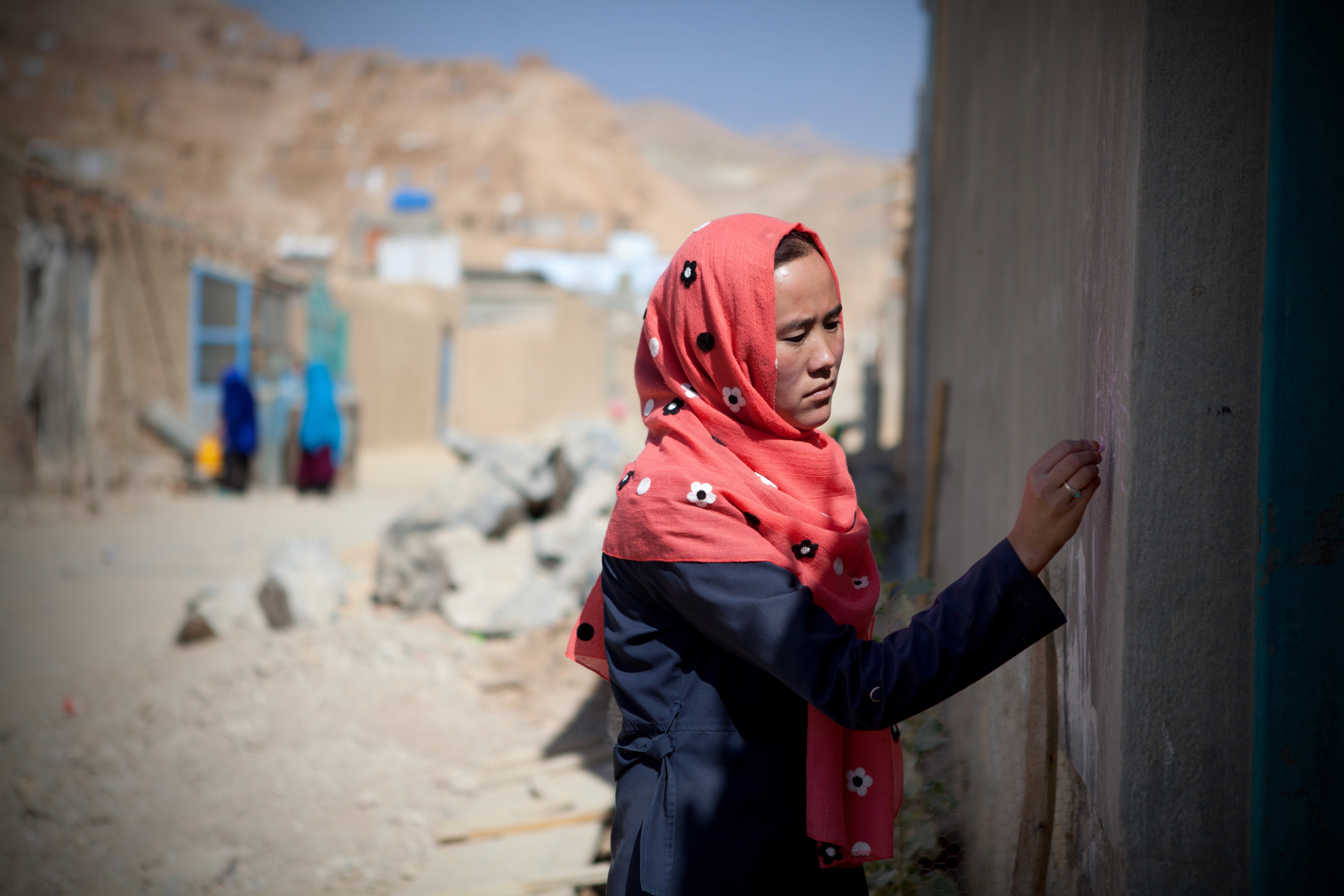 Samima_volunteer_polio_vaccinator_afghanistan