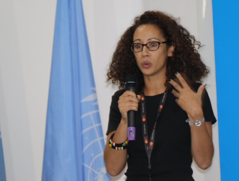 Profile Photo of UNFPA gender specialist for east and southern Africa Julie Diallo for interview on cross-border FGM.