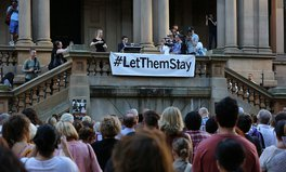 Article: Comedians fighting for 37 babies -- #LetThemStay
